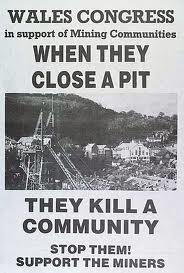 Miners strike Wales
